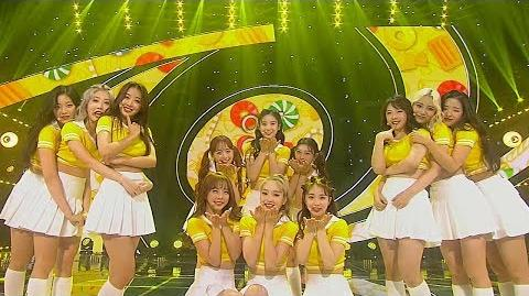《ADORABLE》 LOONA(이달의 소녀) - Hi High @인기가요 Inkigayo 20180902