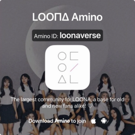 LOONA Amino link photo