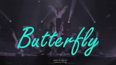 4K 190216 이달의소녀 루나버스 Loonaverse 버터플라이 Butterfly 전체 직캠 Fancam