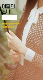 Who's next Girl of October 2016