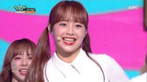뮤직뱅크 Music Bank -Hi High - 이달의 소녀 (LOONA).20181005