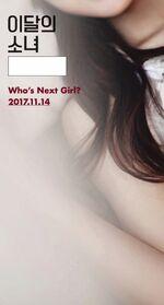 Who's next Girl of November 2017