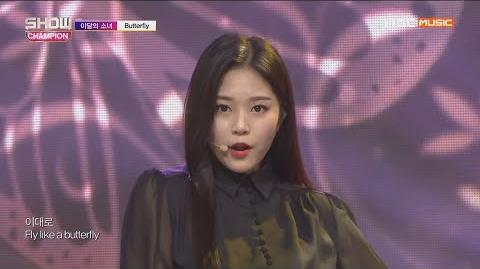 Show Champion EP.305 LOONA - Butterfly