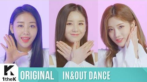 IN&OUT DANCE Special(인앤아웃댄스 스페셜) LOONA(이달의 소녀) Butterfly(Eye Contact Live ver