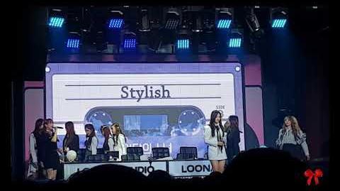 181125 LOONA 이달의 소녀 - Stylish fancam by brr