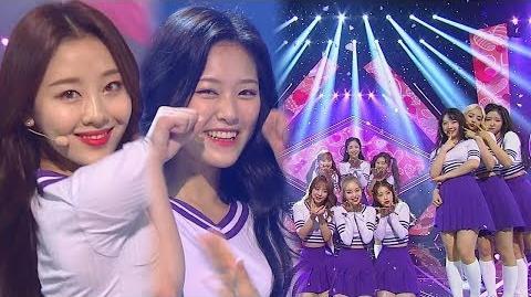 《ADORABLE》 LOONA(이달의 소녀) - Hi High @인기가요 Inkigayo 20180916