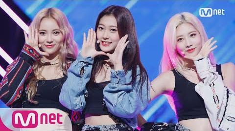 LOONA ODD EYE CIRCLE - Girl Front KPOP TV Show M COUNTDOWN 170928 EP