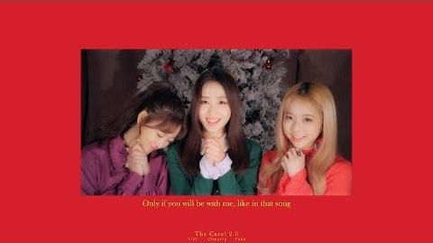"MV 이달의 소녀 ViVi, 최리, 이브 (LOONA ViVi, Choerry, Yves) ""The Carol 2.0 (Official Lyric Video)"""