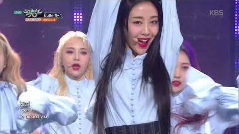 뮤직뱅크 Music Bank - Butterfly - 이달의 소녀 (LOONA)
