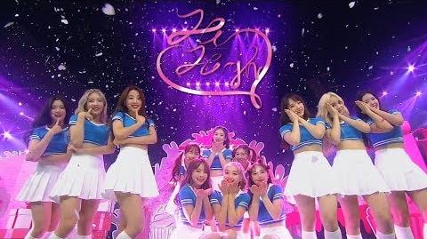 《Debut Stage》 LOONA(이달의 소녀) - Hi High @인기가요 Inkigayo 20180826