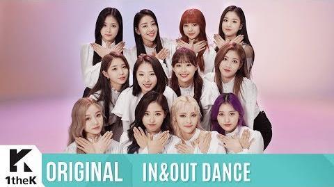 IN&OUT DANCE(인앤아웃댄스) LOONA(이달의 소녀) Butterfly