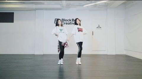 """이달의 소녀 희진&현진 (LOONA HeeJin&HyunJin) """"I'll Be There"""" Choreography Practice"""