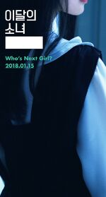 Who's next Girl of January 2018