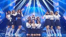 《ADORABLE》 LOONA(이달의 소녀) - Hi High @인기가요 Inkigayo 20180923-1