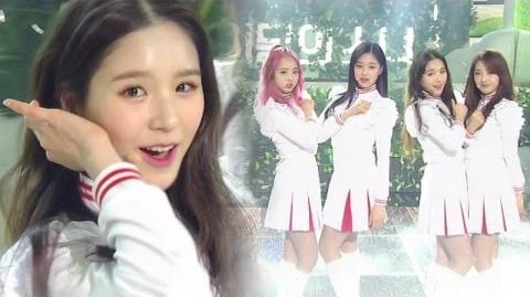 《Debut Stage》 LOOΠΔ 1 3 (이달의 소녀 1 3) - Love&Live (지금, 좋아해) @인기가요 Inkigayo 20170312-1538335812