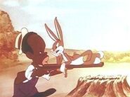 Black Hunter and Bugs Bunny