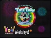 Tiny Toons on Fox Kids