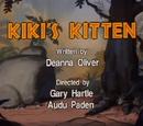 Kiki's Kitten