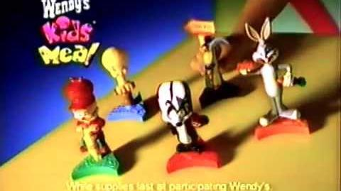 Wendy's Kids Meal & Looney Tunes Premium Commercial (Camp Runamuck)