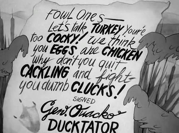 Daffy Duck - What Price Porky