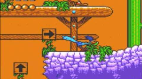 Desert Speedtrap (Sega GameGear) - Walkthrough - Level 7 - Rock N Roll