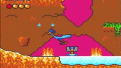 Desert Speedtrap (Sega GameGear) - Walkthrough - Level 13 - Wiles Wonder