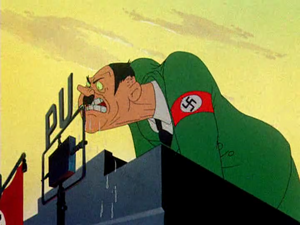 Hitler looney