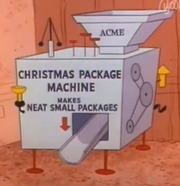 Xmas Package Machine