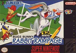 Bugs Bunny Rabbit Rampage Coverart