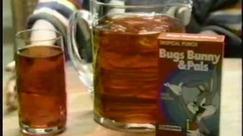 Bugs Bunny Drink Mix Commercial (1986)