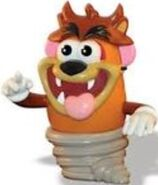 Tasmanian Devil Potato Head