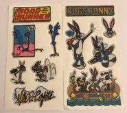 Vtg LOONEY TUNES Puffy Stickers Bugs Bunny Road Runner Wile E Coyote 2 Sheets 11