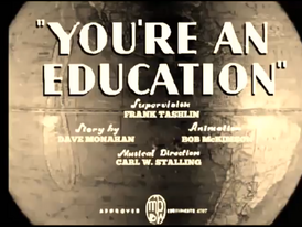You'reAnEducationOriginal