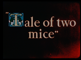 Tale of two mice-title