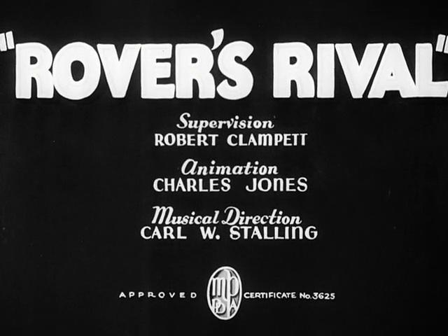Porky Pig - Rover's Rival (1937)