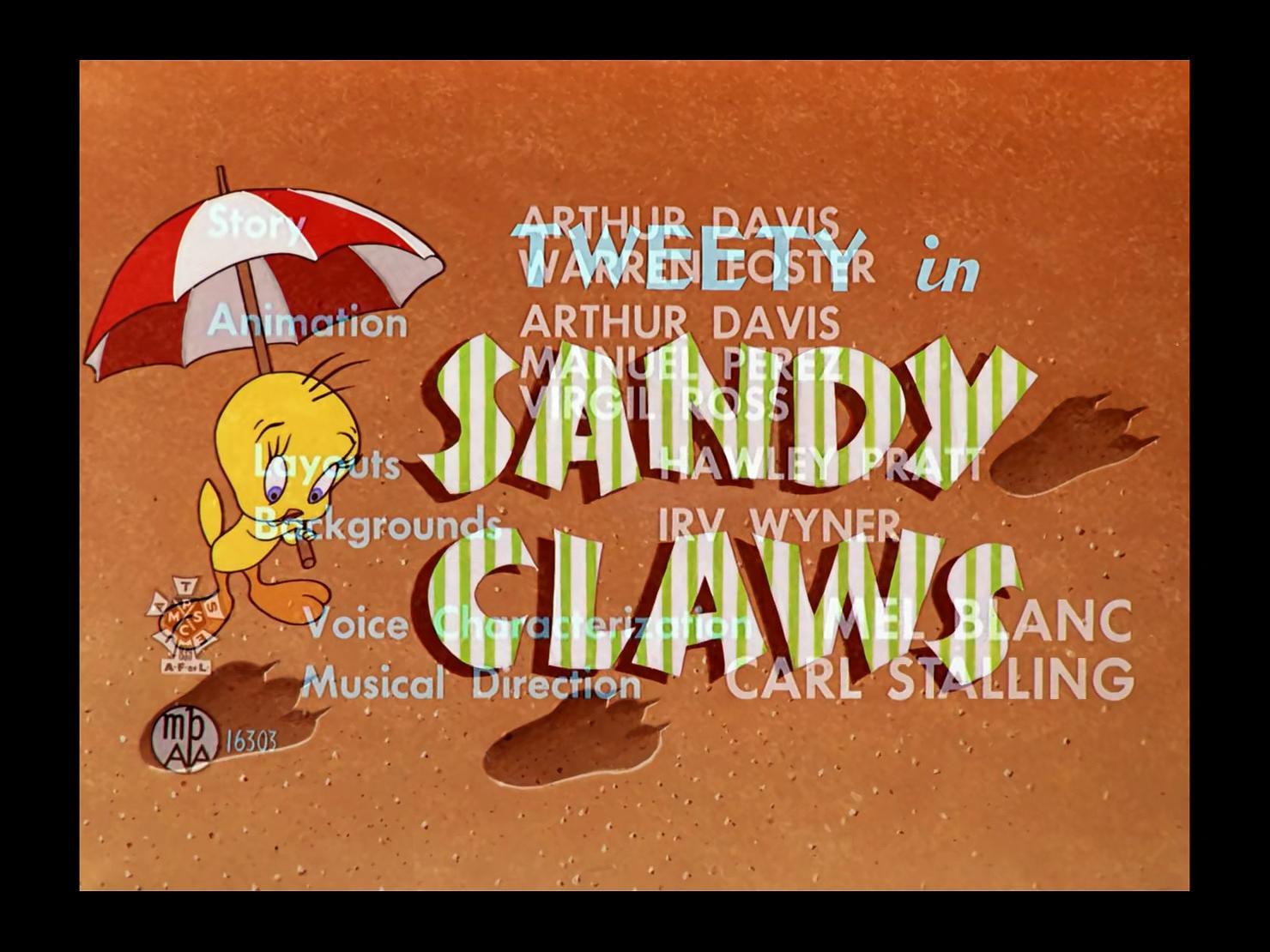 Looney Tunes 1955x09 Sandy Claws