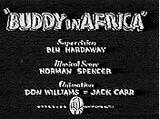 Buddy in Africa