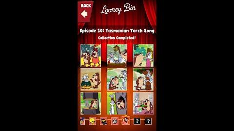 Looney Tunes Dash Card Collection Episode 10 Tasmanian Torch Song
