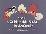 For Scent-imental Reasons-BBRR title