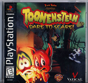 Toonenstein Dare to Scare US Cover