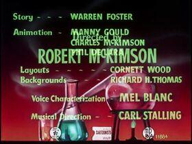 Hot Cross Bunny (1948) with original titles