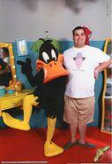 Filipe Cerqueira e o Daffy Duck