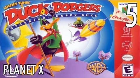 N64 Duck Dodgers starring Daffy Duck - 05 Planet X - All Atoms
