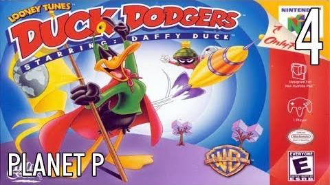 N64 Duck Dodgers starring Daffy Duck - 04 Planet P - All Atoms