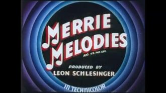 Merrie Melodies All this and Rabbit Stew (1941) US 1995 Turner Dubbed Version