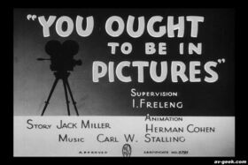 You Ought to Be in Pictures 1940