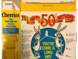 Cheerios 1990 Bugs Bunny 50th Birthday Box