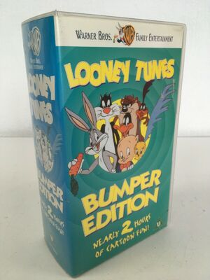 Looney Tunes Bumper Edition UK VHS - 01