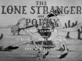 Porky Pig - The Lone Stranger and Porky (1939)