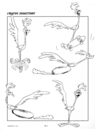 Road Runner Expressions and Attitudes Only Page
